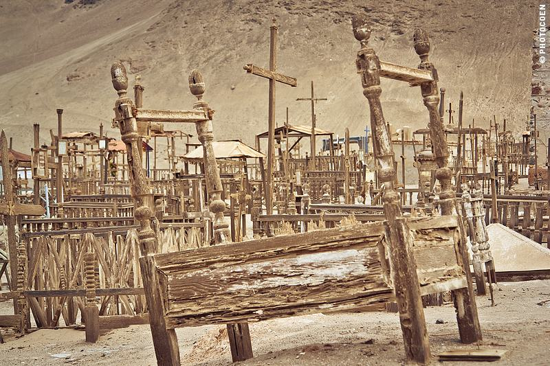 Places in South America to listen to silence: the Cemetery of Pisagua, Chile (©photocoen)