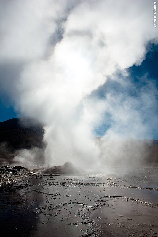 Early Morning Spectacle of the Tatio Geysers, Chile (©photocoen)