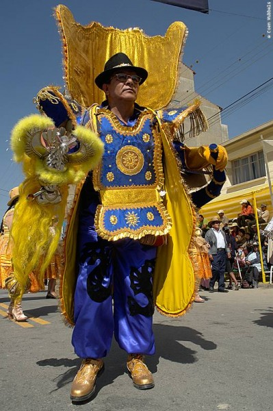 Morenada Dancer in Bolivia (©photocoen)