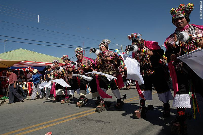The Waca Tokoris Dance is popular in Bolivia (©photocoen)