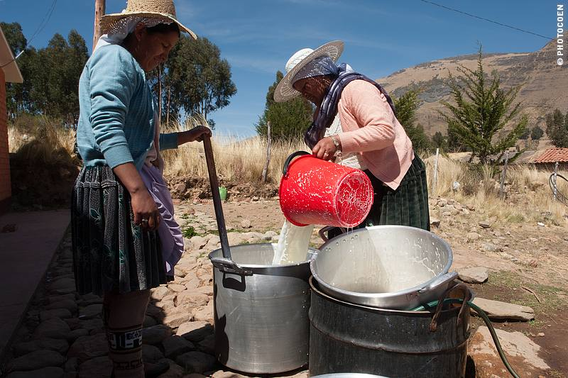 Yoghurt Production in Central Bolivia, APARK (©photocoen)