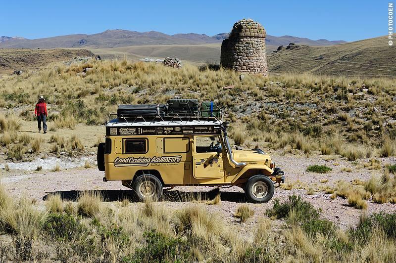 A chullpa near Cutimbo, Peru (©photocoen)
