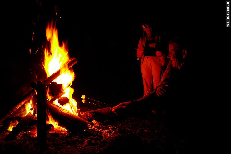 Campfire in Brazil (©photocoen)