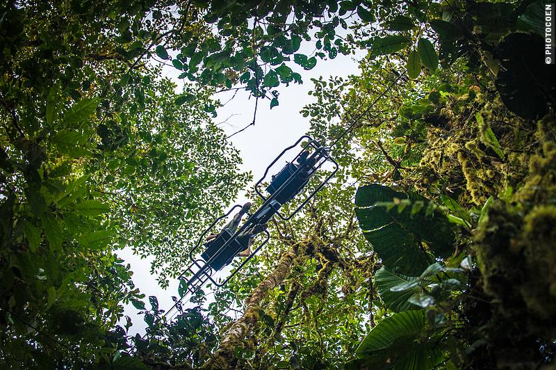 Sky Bike at Mashpi Eco Lodge in Ecuador (©photocoen)