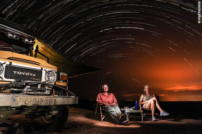 Star Trail Shooting in Tatacoa Desert, Colombia (©photocoen)