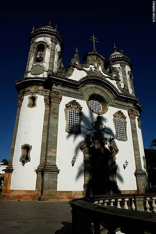 Church of San Francis de Assis in São João Del Rei.
