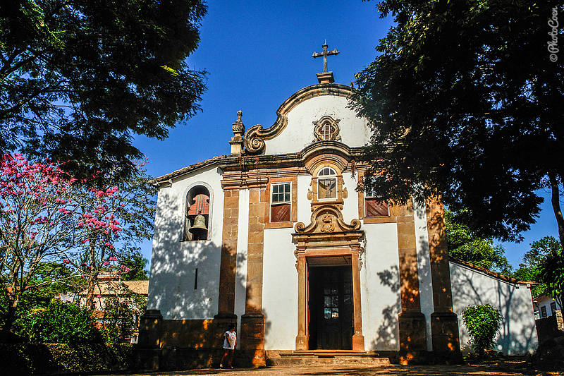 NS Rosario dos Pretos Church in Tiradentes, Brazil (©photocoen)
