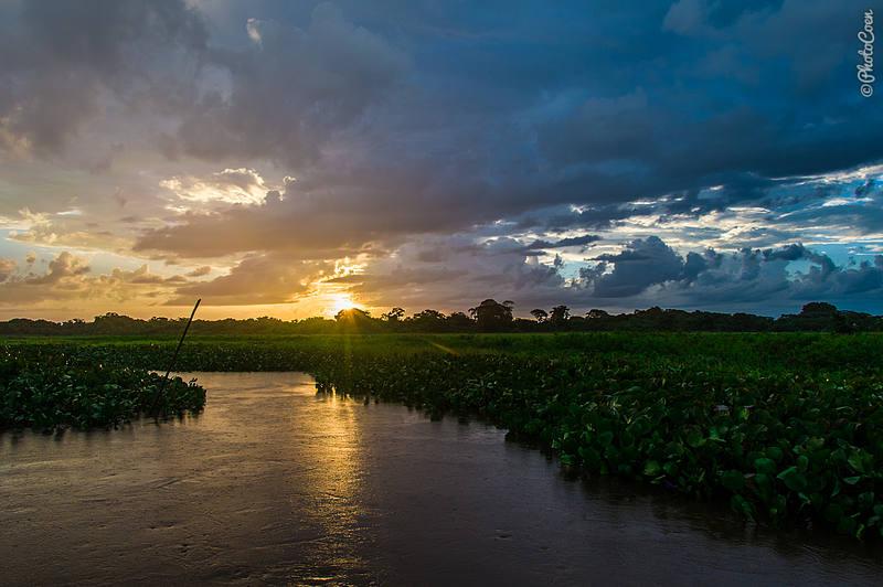Sunset at the Delta Orinoco (©photocoen)