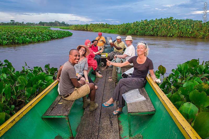 Boat trip with the Delta Eco Camp, Venezuela (©photocoen)
