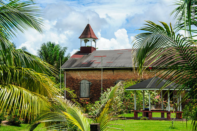 Court of Policy, Fort Island, Guyana (©photocoen)