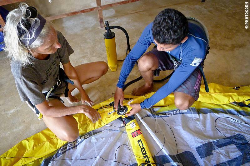 Kitesurfing course in Brazil
