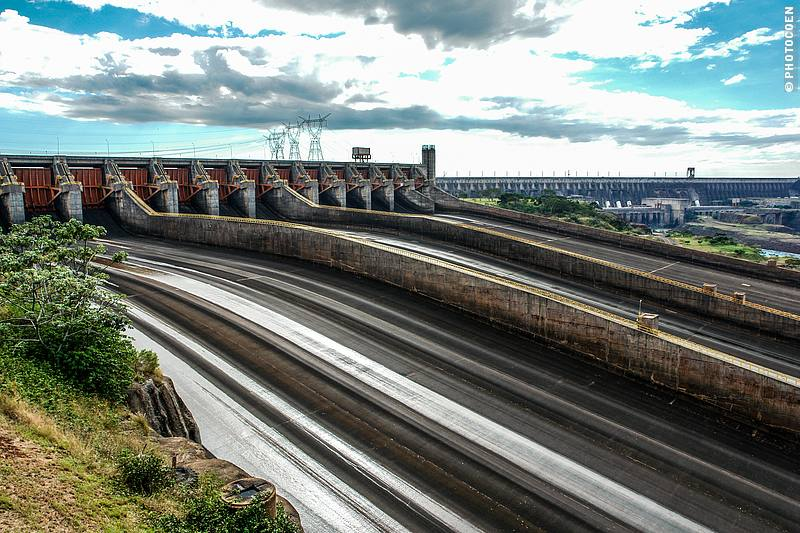 Itaipu Dam in Paraguay