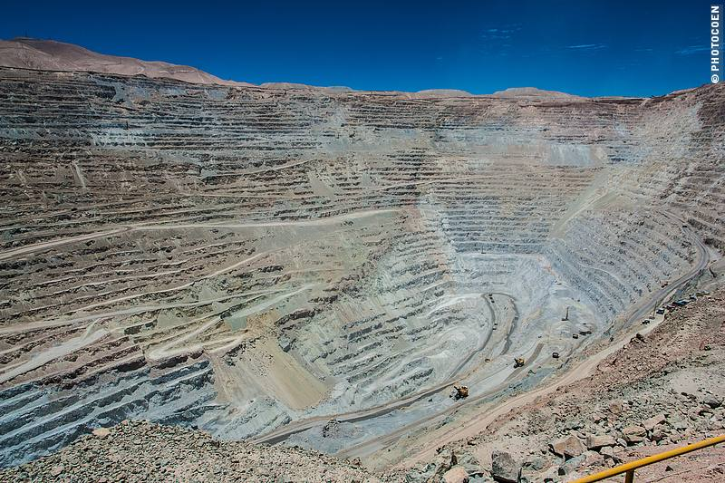 The Copper Mine in Chuquicamata.