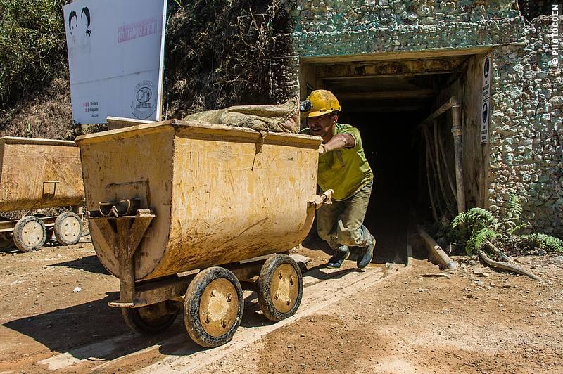 Miranda Alta Mine in Zaruma.