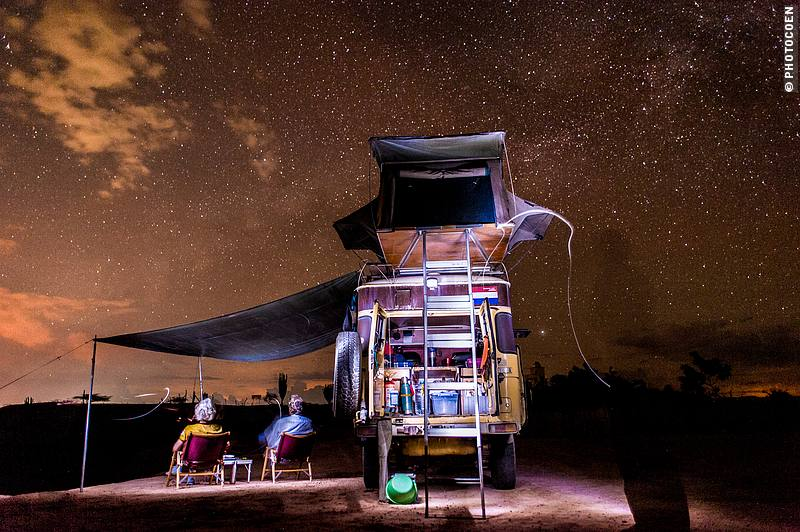 Star Trail Shooting in Colombia (©photocoen)