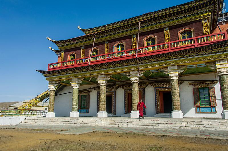 Tsugol Monastery in Siberia